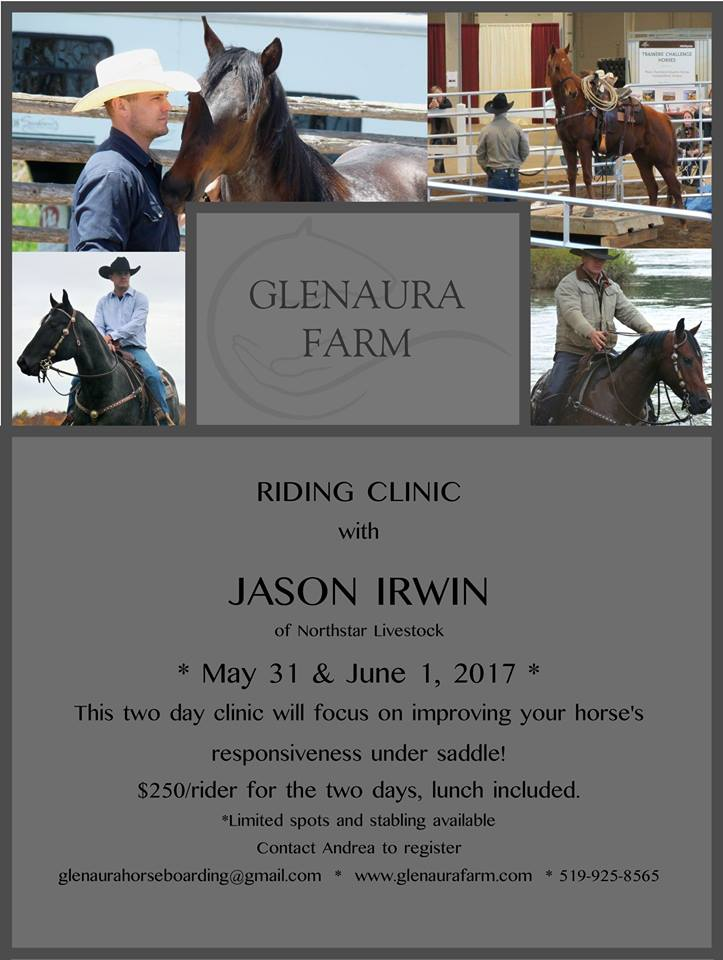 Glenaura Farm Clinic Flyer